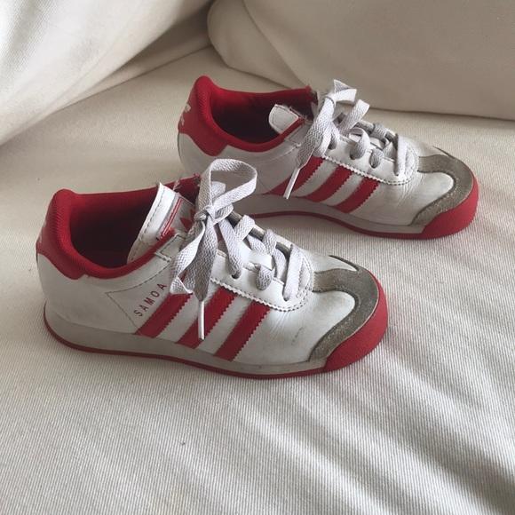 boys ralph lauren trainers adidas samoa white
